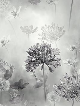 ARTHOUSE Arthouse Spring Meadow Mono Wallpaper Picture