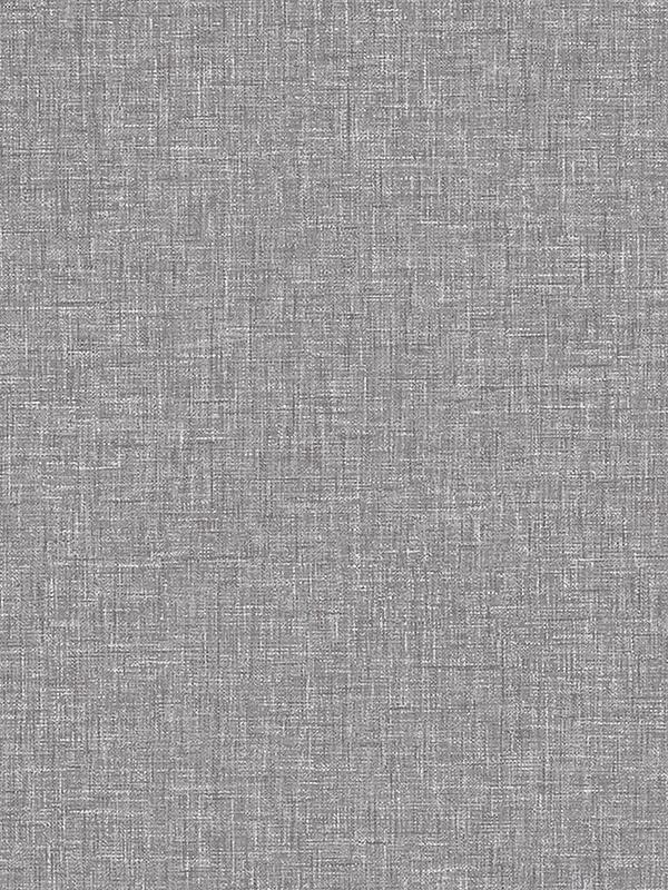 Linen Texture Wallpaper Charcoal