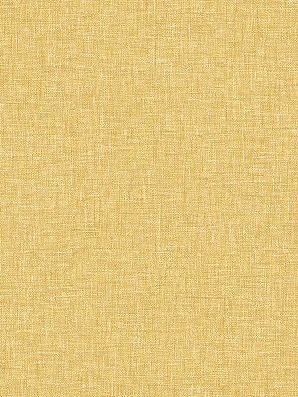 Linen Texture Wallpaper Ochre