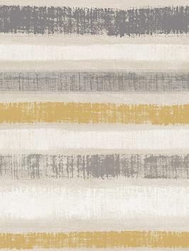 arthouse-painted-stripe-wallpaper--nbspgrey-amp-ochre