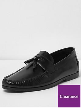 river-island-black-tadley-patent-loafer