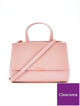 ted-baker-dadelph-zipped-top-tote-bag--nbsplight-pink