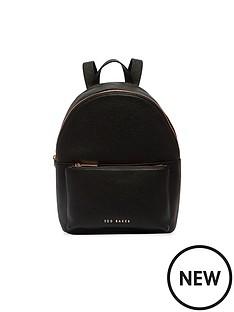 ted-baker-pearen-soft-grain-backpack-black