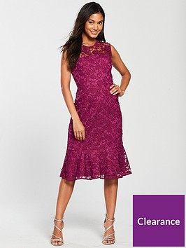 phase-eight-sabby-lace-dress-magentanbsp
