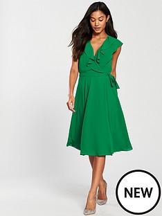 phase-eight-allegra-wrap-dress-greennbsp