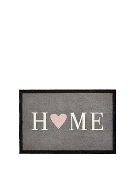 Very Home Heart Indoor Doormat Picture