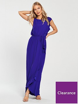 phase-eight-biana-frill-maxi-dress