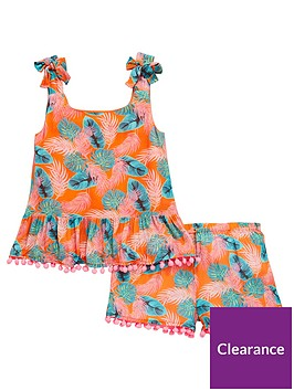 v-by-very-girls-tropical-pom-pom-top-amp-short-outfit