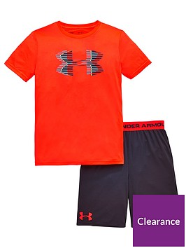 under-armour-boys-tee-and-shorts-set