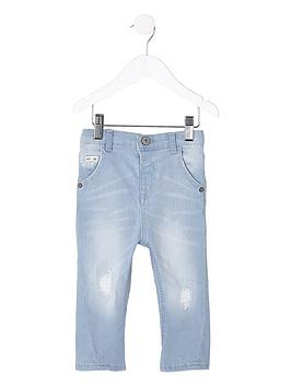 river-island-mini-boys-light-blue-tony-ripped-tapered-jean