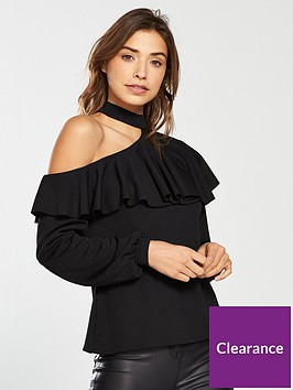 v-by-very-choker-one-shoulder-top