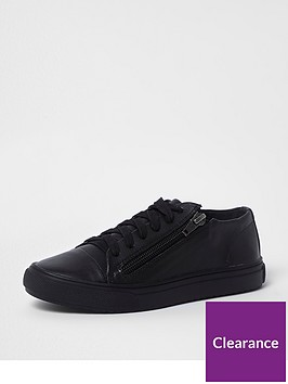 river-island-boys-black-lace-up-zip-side-trainers