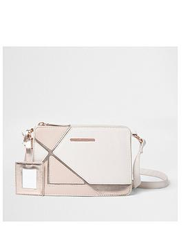 river-island-girls-pink-cutabout-metallic-cross-body-bag