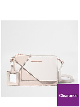 river-island-girls-pink-cutabout-metallic-cross-body-bag