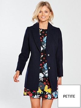 v-by-very-petite-single-breasted-formal-coat-navynbsp