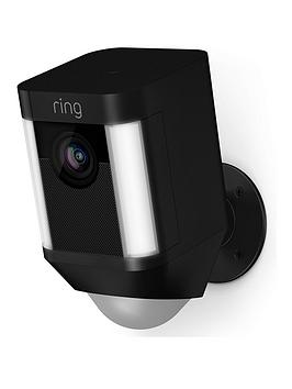 Product photograph showing Ring Spotlight Cam Battery