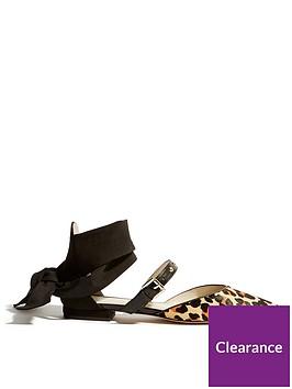 karen-millen-karen-millen-soft-tie-leopard-amp-stud-open-shoe