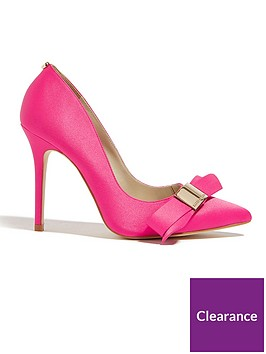 karen-millen-bow-court-shoe