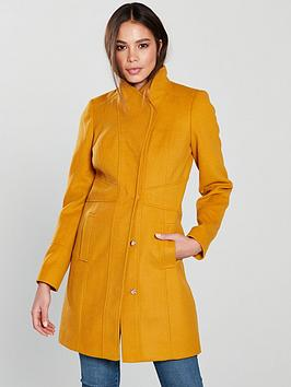 v-by-very-funnel-neck-coat