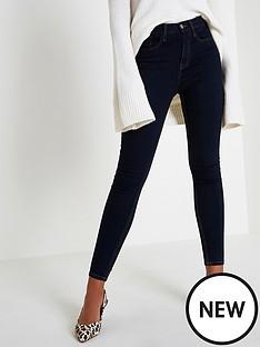 river-island-river-island-short-leg-harper-jeans--dark-denim