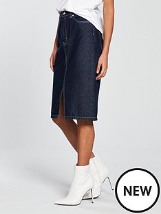v-by-very-contrast-stitch-denim-skirt-indigo