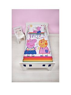 peppa-pig-hooray-toddler-duvet-cover