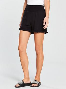 v-by-very-sheered-waist-band-jersey-shorts