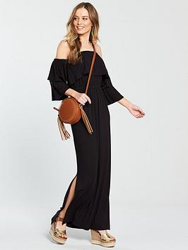 v-by-very-tiered-jersey-maxi-dress-black