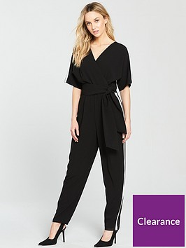wallis-side-stripe-obi-jumpsuit-black