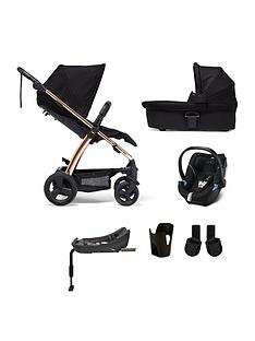 mamas-papas-sola2-rose-gold-6-piece-bundle-pushchair-carry-cot-car-seat-isofix-base-adaptor-and-cupholder