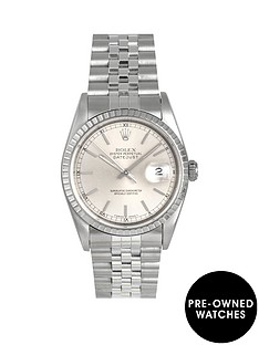 rolex-rolex-pre-owned-datejust-silver-baton-dial-mens-watch-ref-16220