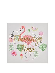 graham-brown-flamingo-time-wall-art