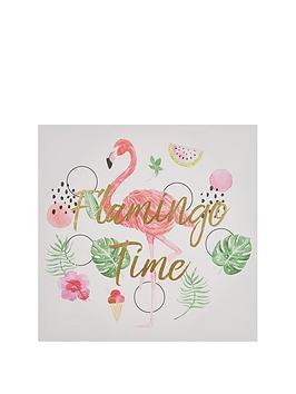 Graham & Brown  Flamingo Time Wall Art