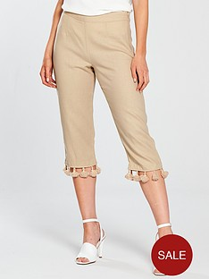 v-by-very-petite-tassel-trim-crop-linen-trouser-sand
