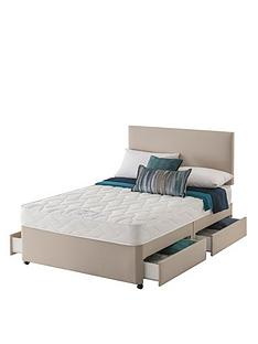 layezee-made-by-silentnightnbspfenner-bonnel-spring-divannbspbed-with-storage-options