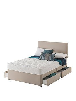 Layezee Layezee Made By Silentnight Fenner Bonnel Spring Divan Bed With  ... Picture