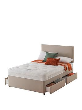 Layezee Layezee Made By Silentnight Fenner Bonnel Ortho Divan Bed With  ... Picture