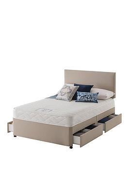 Layezee Layezee Made By Silentnight Layezee Fenner Bonnel Memory Divan Bed  ... Picture