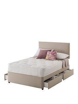 Layezee Layezee Made By Silentnight Addison 800 Pocket Ortho Divan Bed  ... Picture