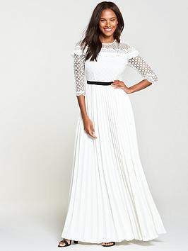 v-by-very-lace-top-pleated-maxi-dress--nbspivorynbsp