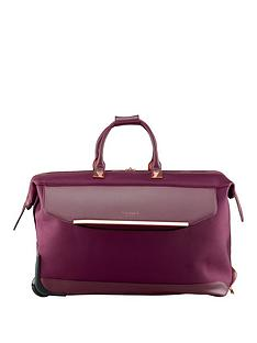 ted-baker-albany-wheel-trolley-duffle