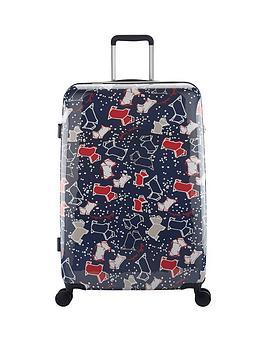 radley-speckle-dog-4-wheel-large-case