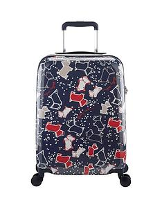 baa56fc79c Radley Speckle Dog 4 Wheel Cabin Case