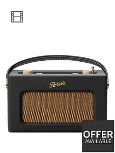 roberts-revivalnbsprd70nbspdigital-radio-with-alarms-and-bluetoothnbspstreaming-black