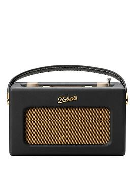 roberts-revivalnbsprd70nbspdigital-radio-with-alarms-and-bluetoothnbspstreaming-black