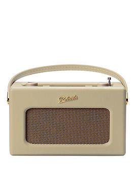 Roberts   Revival Rd70 Digital Radio With Alarms And Bluetooth Streaming - Pastel Cream