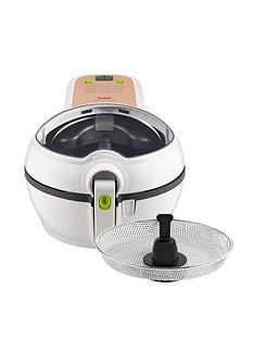 tefal-actifry-original-plus-with-snacking-tray-gh847040nbspair-fryer-white