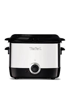 tefal-ff220040-mini-deep-fryer-06kg-capacity-1000wnbsp--stainless-steel