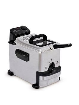 tefal-oleoclean-compact-fr701640-2l-semi-professional-fryer-stainless-steel