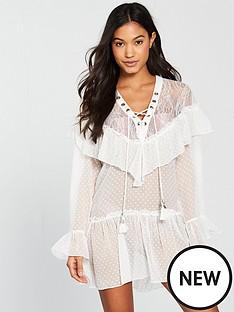 river-island-river-island-ruffle-cover-up-beach-dress--white
